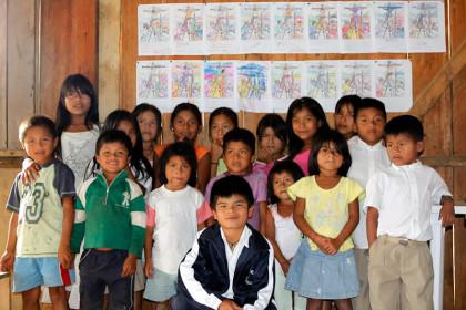 Children of Yantana, Ecuador.